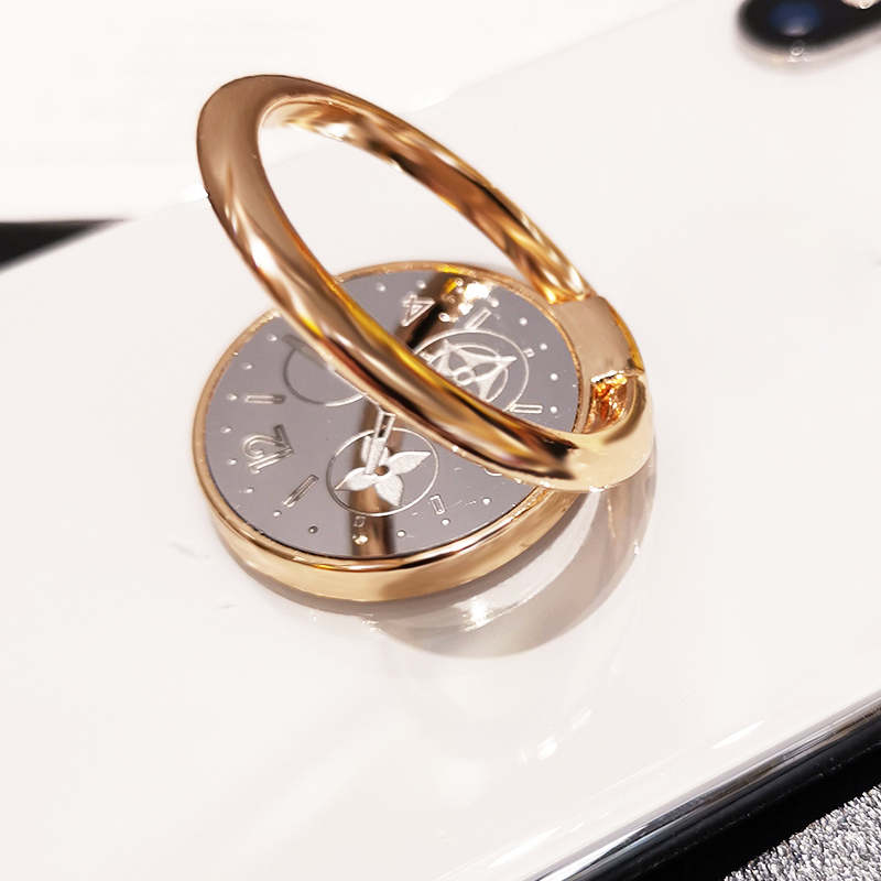 Support universel rotatif à 360 degrés pour téléphone portable, anneau métallique, support de doigt, support de décoration de cadran pour téléphone portable