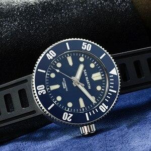 Image 3 - Мужские механические часы San Martin для дайвинга, 1000 м