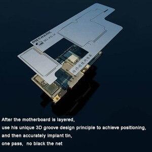 Image 3 - Monteur 3D Bga Reballing Stencil Kit Voor Iphone X/Xs/Xr/Xs Max Tussenlaag Kan Worden geplant Platform Tin Template Lassen