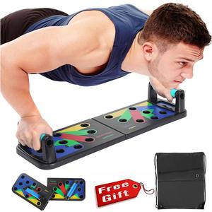 Multifunction Push Up Board Men Women Body Building Fitness Exercise Tools Portable Gym Home Strength Training Stands Equipment