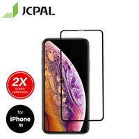 Protetor de vidro da tela da dureza super de jcpal presever para iphone11/xr 6.1