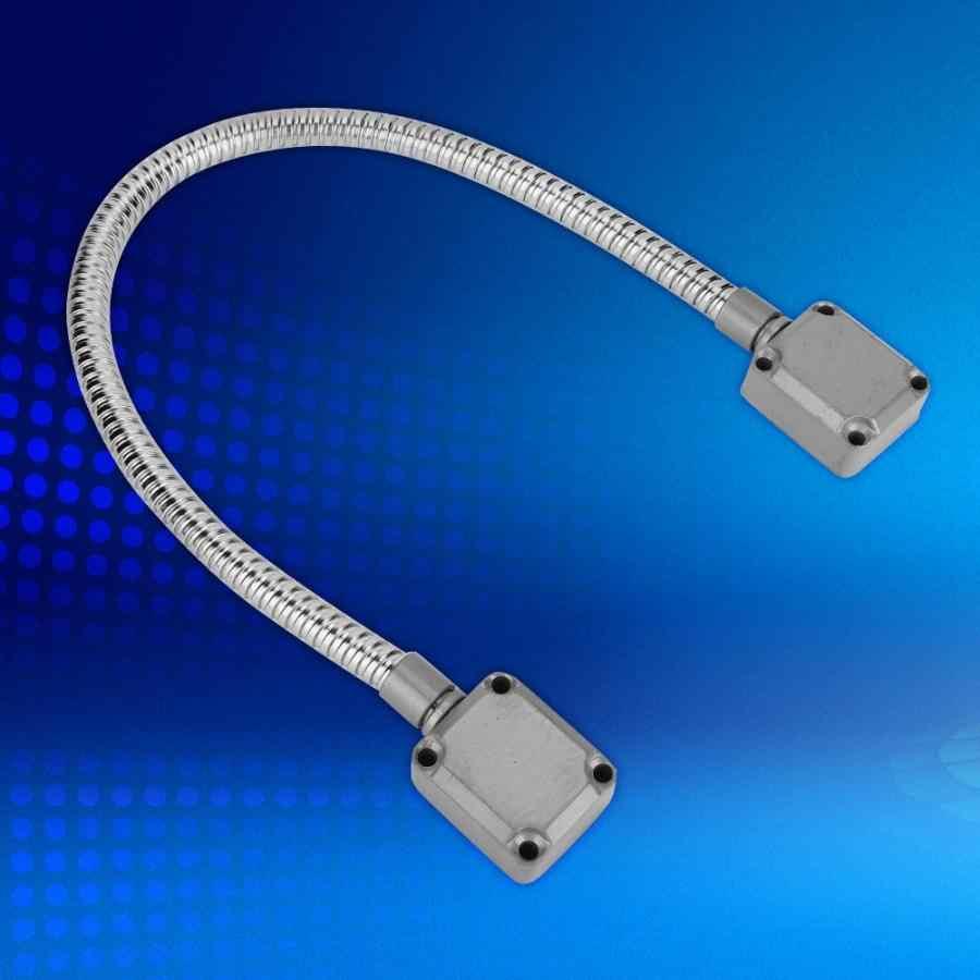 Pintu Besar Loop Terkena Pemasangan Akses Kontrol Kawat Kabel Lengan Perlindungan Stainless Steel
