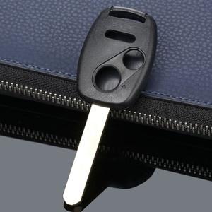 Image 5 - 3 버튼 Repalcement Keyless Entry 원격 키 Fob 쉘 케이스 HONDA Accord Pilot Civic CR V 자동차 커버 용 키 언컷 블레이드