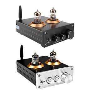 Bluetooth 5.0 Hifi 6J5 Tube Preamp Amplifier NE5532 Preamplifier Amplificador Tone Board Treble Bass Volume Adjustment