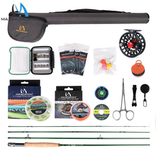 Maximumcatch Maxcatch Premier Fly Fishing Rod Kit and Fly Reel Combo Complete Fishing Outfit недорого