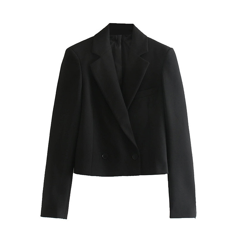 Vintage Autumn Winter Women Pant Suit Black Notched Blazer Jacket Pant 2019 Office Wear Women Suits Female Sets