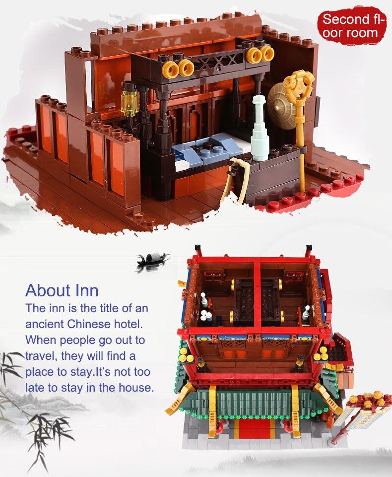 DHL XINGBAO 01022 новые китайские игрушки для строительства Wanfu ИНН набор сборных строительных блоков Кирпичи для детей на день рождения рождественские игрушки, подарки