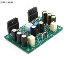 ZEROZONE LM3886 Stereo amplifier Kit Pure dynamic feedback circuit free ship lm3886 mount 2x68w dc servo current dynamic feedback power amplifier board