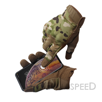 Pair Motorcycle Gloves Winter Tactical Camouflage Racing Bike Riding Gloves Women Motocross Enduro Men Cycling Training Gloves 2