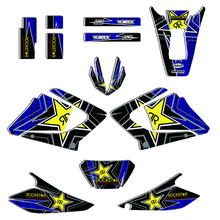 DT X 125 Decal Stickers for Yamaha DTX125 DT125X DT 125 X 125X DECO 2002 2007 2006 2005 2004 2003