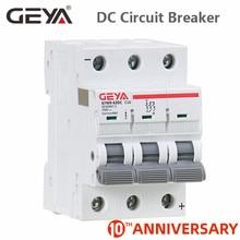 цена на GEYA MCB DC 6KA 3P 750V Mini Circuit Breaker DC 6A 10A 16A 20A 25A 32A 40A 50A 63A