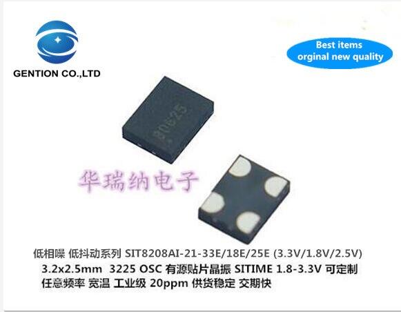 2pcs 100% New And Orginal SIT8208AI 3225 OSC Active SMD Crystal 50M 50MHZ 50.000MHZ 3.3V