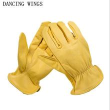 Retro lokomotywa rękawice z owczej skóry kobiece zimowe ciepłe rękawiczki jeździeckie damskie skórzane rękawiczki tanie tanio DANCING WINGS Unisex Prawdziwej skóry Dla dorosłych Stałe Nadgarstek Moda CJ-76