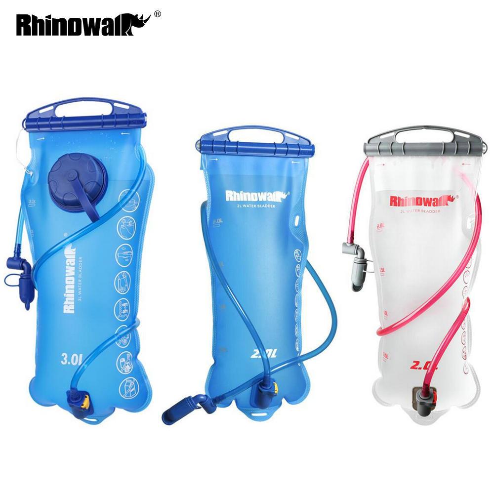 Rhinowalk Water Bladder Bag 2L 3L Bike Backpack Water Reservoir Hydration for Outdoor Camping Hiking Climbing TPU Water Bag