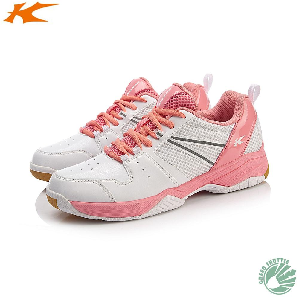 2020 100% Original Kason Badminton Shoes Breathable And Anti-Slippery Sneakers For Women FYTN012