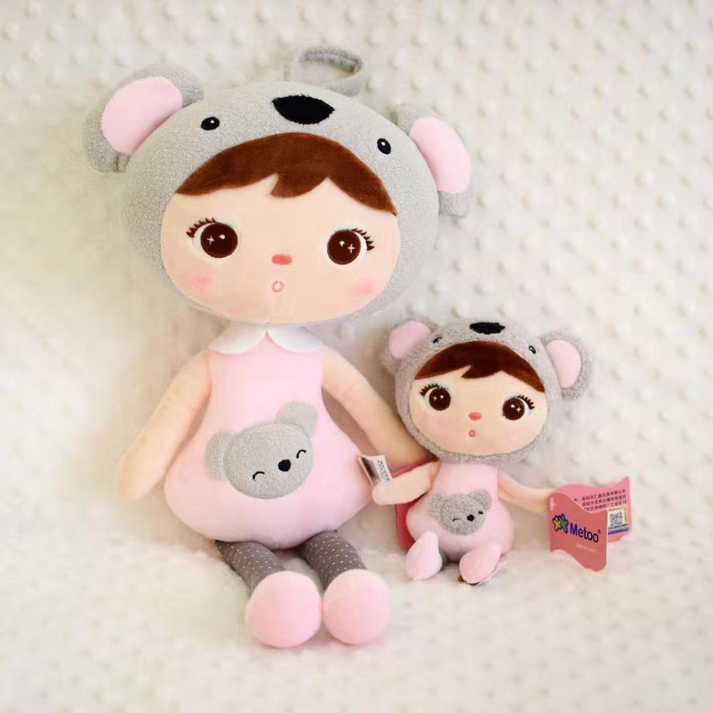 New Genuine 20CM 45CM New Cartoon Stuffed Animals Metoo Angela Plush Toys Dolls For Birthday Christmas Children Gifts A47