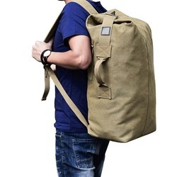 35L Canvas Outdoor Military Backpack Tactical Hiking Camping Travel Bag For Hunting Fishing Rucksack Gym Fitness Sports Handbags