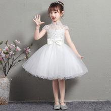 Детское платье для девочки с цветочным принтом юбка принцессы