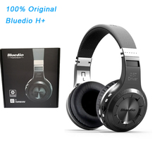 Original Bluedio H+ Headset Bluetooth 4.1 Stereo Bass HIFI Wireless Headphones Earphones For Calls Music with Microphone FM