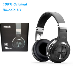 Image 1 - Original Bluedio H+ Headset Bluetooth 4.1 Stereo Bass HIFI Wireless Headphones Earphones For Calls Music with Microphone FM