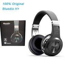 オリジナル業bluedio h + ヘッドセットのbluetooth 4.1ステレオ低音hifiワイヤレスヘッドホンイヤホンコールのため音楽マイクfm