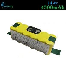 Atualizar potência 4500mah 14.4v bateria de substituição estendida-para irobot roomba 500 600 700 800 série aspirador de pó 785 530 560 650