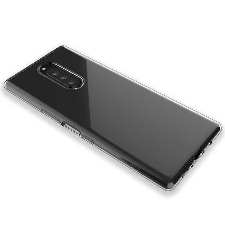 Dla Sony Xperia 8 5 1 10 Plus Ace Case Slim jasne miękkie etui tpu dla Sony Xperia XZ1 XZ2 Compact X XZ XA2 XA1 ultra Plus XZ3 L3
