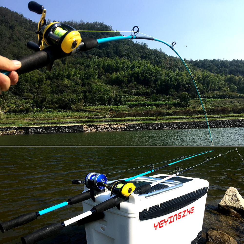GHOTDA Ultra Light Fishing Rod with Casting and Spinning Handles and Stable and Strong Reel Seat 4