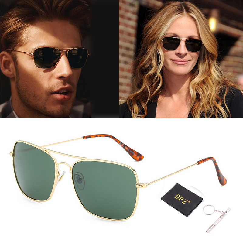 Fashion Vintage 3136 CARAVAN Aviation Style Sunglasses Classic Men Women Driving Fishing rayeds Sun Glasses Oculos De Sol UV400