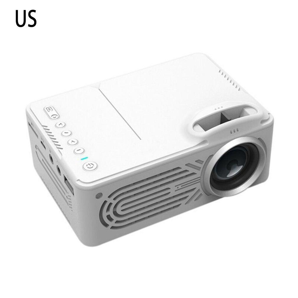 Branco 814 projetor portátil de alta definição 1080p hdmi projetor multi interface de cinema em casa projetor de vídeo-0
