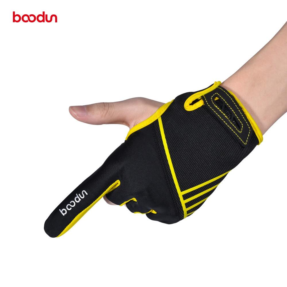 Big Sale¬Boodun Bowling-Gloves 1-Pair Mittens Elastic Antislip Professional Breathable Sports§