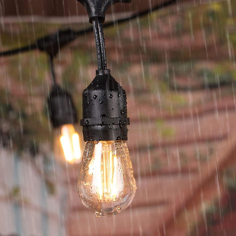 led filamento lâmpada para jardim ao ar