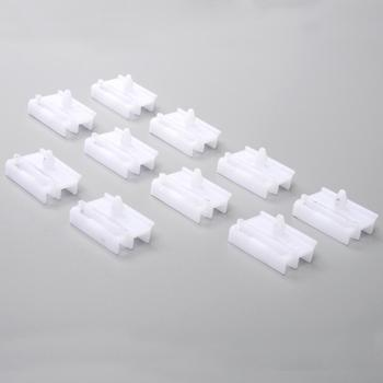 10Pcs Sill Side Skirt Moulding Clips Door Trim Panel Fastener Clip for BMW E36 E46 Car Plastic Rivets Automobile image