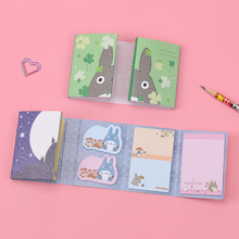Stationery Memo-Pads Posted Sticky-Notes-N-Times Melody Folding Kawaii Totoro Cute Gift