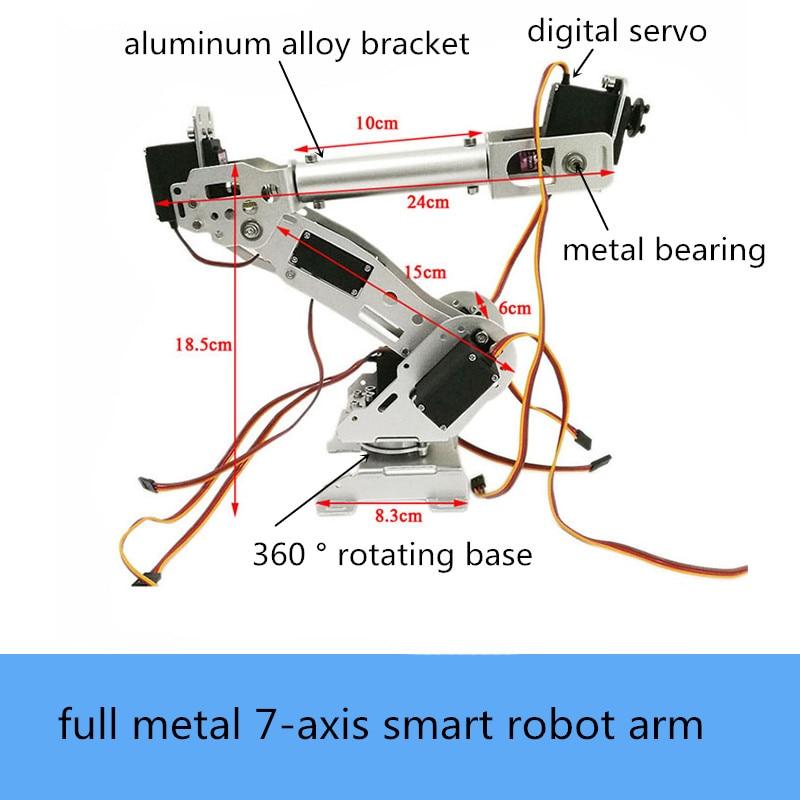 szdoit a7 dof braco robotico para a abb industrial metal modelo de robo servo