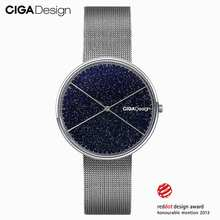 CIGA Design CIGA Quartz Watch Romantic Starry Sky Wrist Watch Womens Simple Ladies Watch Wins Red Dot Design Award Feminino