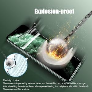 Image 5 - Película de hidrogel de cobertura completa curvada 25D para iPhone XR XS X XS 11 Pro Max, Protector de pantalla suave para iPhone 11 7 8 6s Plus, película de vidrio