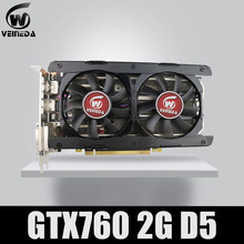 Video Thẻ Veineda GTX760 2GB GDDR5 256Bit 6004MHz DVI HDMI Mạnh hơn GTX950, GTX750Ti(China)