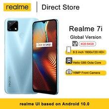Realme 7i versión Global teléfonos móviles 6,5