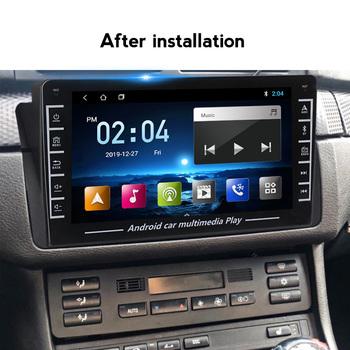 Radio samochodowe Android 8 1 dla BMW E46 M3 2001-2006 Rover 3 samochodowy odtwarzacz multimedialny CANBUS nawigacja GPS ekran dotykowy FM tanie i dobre opinie NaviTree CN (pochodzenie) podwójne złącze DIN 4*45 JPEG Metal Plastic 1280*720 1 5kg Bluetooth Wbudowany GPs Ładowarka