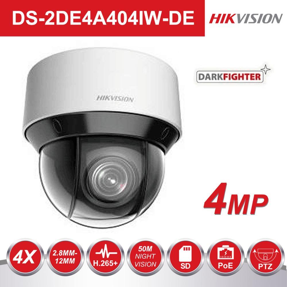 Hikvision Dark Fighter Video Surveillance Camera DS 2DE4A404IW DE 4MP 4X 2 8 12mm Dome PTZ