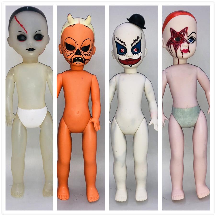 New 26cm Scary Chucky Doll Toys Zombie Kid Horror Movies Child's Play Bride Of Chucky Horror Doll Toy