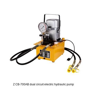 110V220V Double Action Electric Hydraulic Pump ZCB-700AB Tank Capacity 7L(customizable) Hydraulic Motor Pump 1400r/min