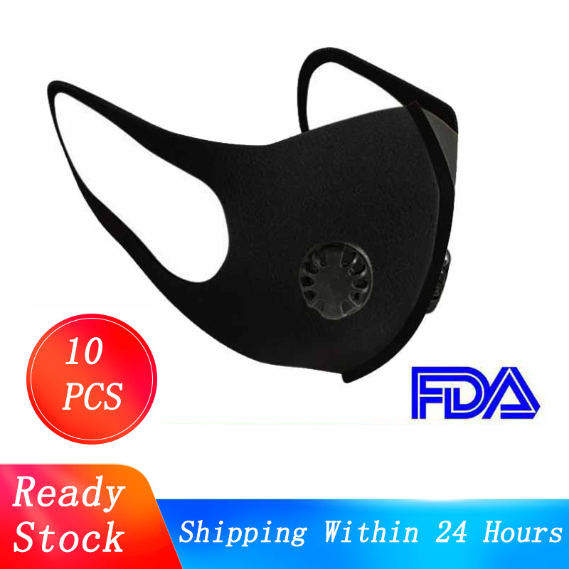 Dustproof Air Filter FFP3 Mask Breathable Double Valve PM2.5 Dust Mask Respirator Dust Mask Mouth Respirator FFP2 For Men Women