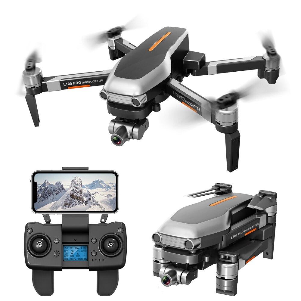 L109 PRO GPS Drone With 2-axis Gimbal Anti-shake Selfstabilizing Wifi FPV 4K Camera Brushless Quadcopter VS SG906 PRO F11 ZEN K1 3