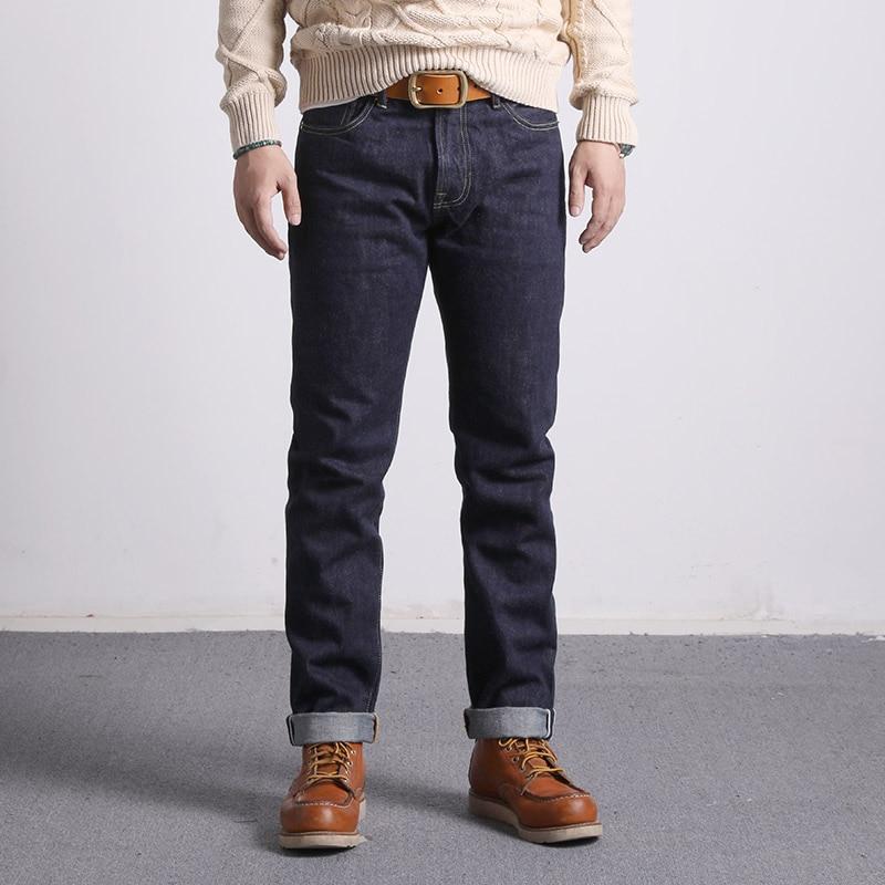 511XX-0009 Lesen Beschreibung! RedTornado Raw Denim Jeans 16 unzen Schwere Gewicht Indigo Selvage Eine Gewaschen Sanforized Zipper Hosen