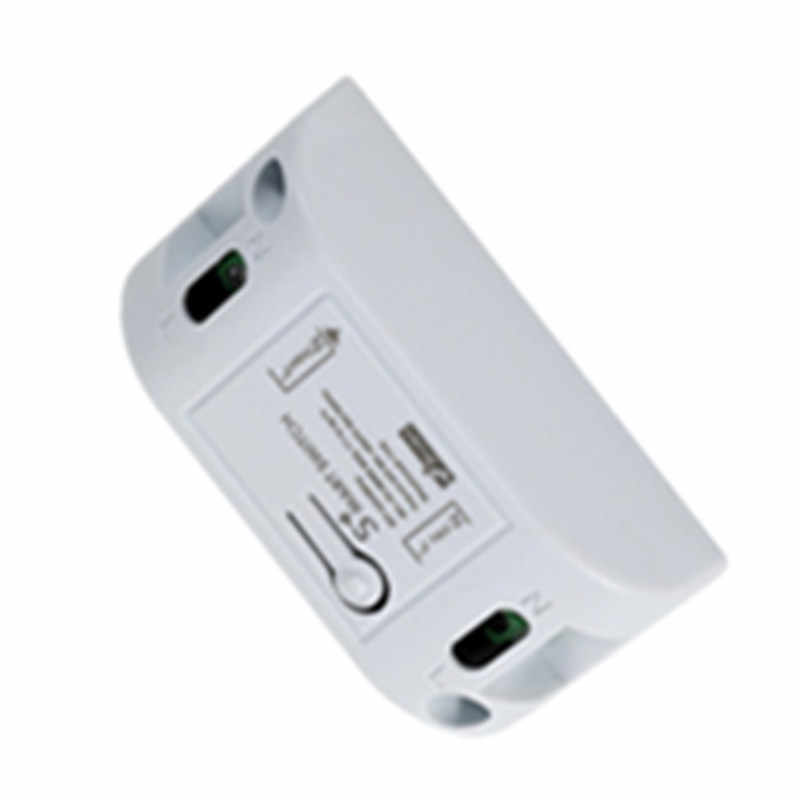 Wifi Anahtarı DIY Akıllı Ev Otomasyonu Modülleri Kablosuz Uzaktan Kumanda Işık Zamanlayıcı Röle Anahtarları 110 V 220 V Alexa ile Çalışır