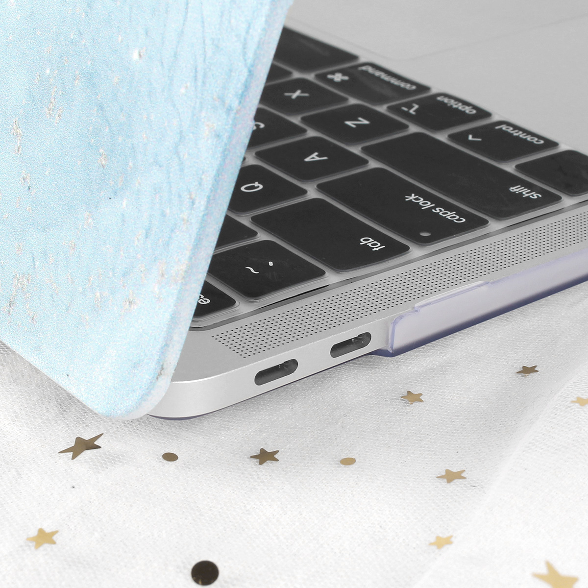 Marble Flower Pattern Case for MacBook 71