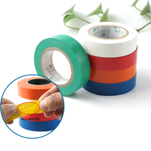 цена на PVC Waterproof Self- Adhesive Electrical Tape Electrician Wire Insulation Flame Retardant Plastic Tape Electrical High Voltage