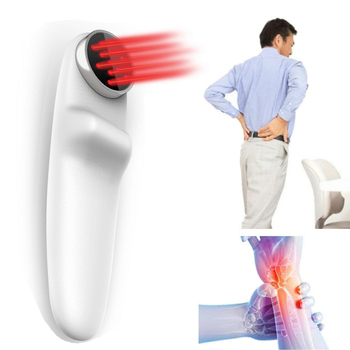 Portable 808 nm and 650 nm laser medical instrument rehabilitation back pain relief devices innovative health products light detection and ranging using nir 810 nm laser source